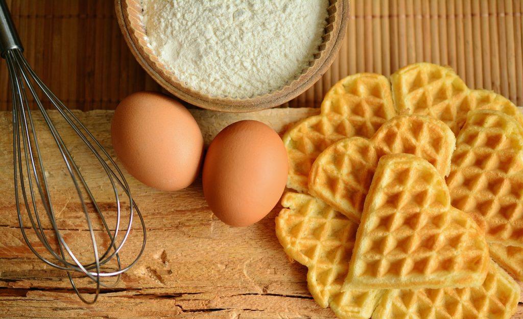 waffles, waffles bake, ingredients