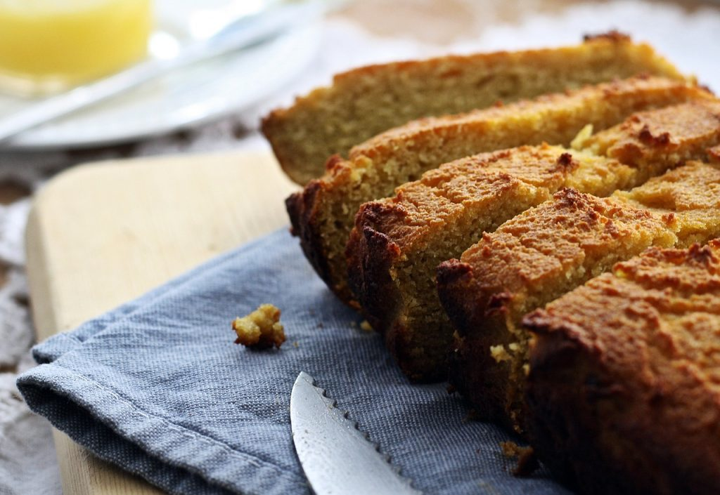 bread, gluten free, homemade