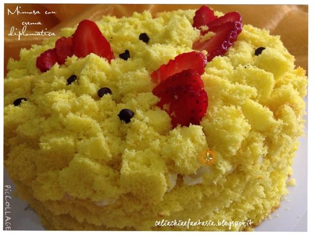 Mimosa con crema diplomatica